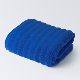 Полотенце «Лайфстайл», размер 50 × 90 см, светло-синий