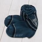 Колготки для мальчика КДМ1-1165, цвет джинсовый, рост 104-110 см