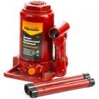 Домкрат SPARTA, гидравлический, бутылочный, телескопический, 3 т, подъем 160–405мм
