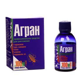 Профессиональное средство 'Агран', для уничтожения насекомых, в коробке, 50 мл Ош