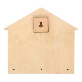 Ключница деревянная 'Дом, милый дом' Ош