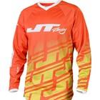 Джерси JT Racing, FLEX ECHO, желто/оранжевый, размер M