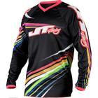Джерси JT Racing, FLEX FLOW, черный/микс, размер L