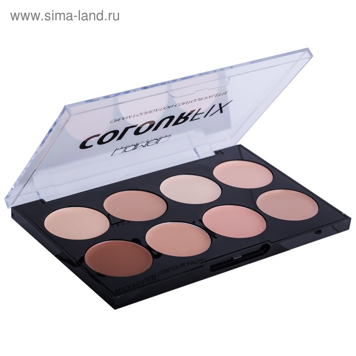 Набор консилеров для контуринга лица Lamel Colour Fix, 8 цветов