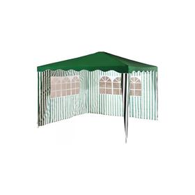 Тент садовый из полиэстера 1023  3х3х2,5 зеленый Ош
