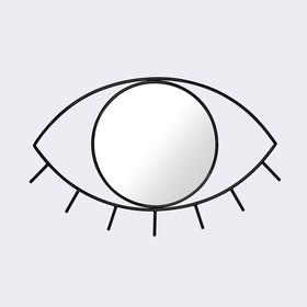 Зеркало настенное cyclops среднее чёрное