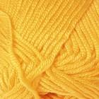 "Пряжа ""Saten 50"" 100% микроакрил 115м/50гр (184 жёлтый)"