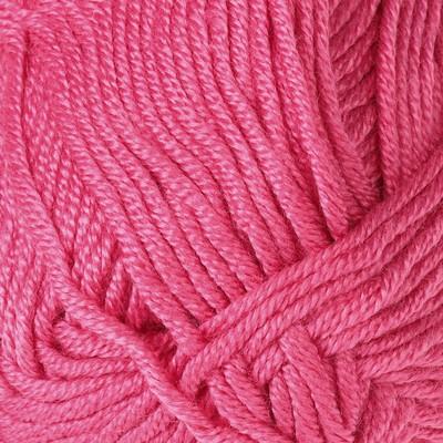"""Пряжа """"Saten 50"""" 100% микроакрил 115м/50гр (236 бледно-розовый) - Фото 1"""