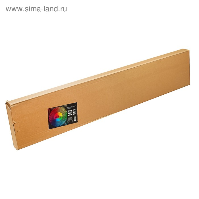 Бегущая строка уличная 1 х 0,2 м, шаг светодиода P10, IP44, 220V, USB, Монохромный синий