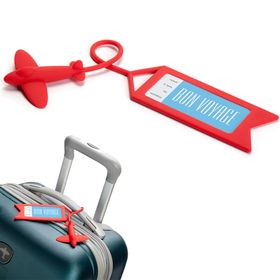 Бирка для багажа Tag me, красная Ош