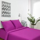 Постельное бельё Этель «Пурпурное сияние» 1,5 сп 143х215, 150х214, 70х70+3- 2 шт - Фото 1