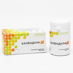 Комплекс «Календула П», при инфекционных заболеваниях, гастрите, 100 таблеток по 205 мг