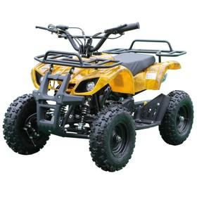 Детский электро квадроцикл MOTAX ATV Х-16 800W, желтый камуфляж