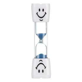 Песочные часы 'Зубик', на 3 минуты, 10 х 2 см, микс Ош
