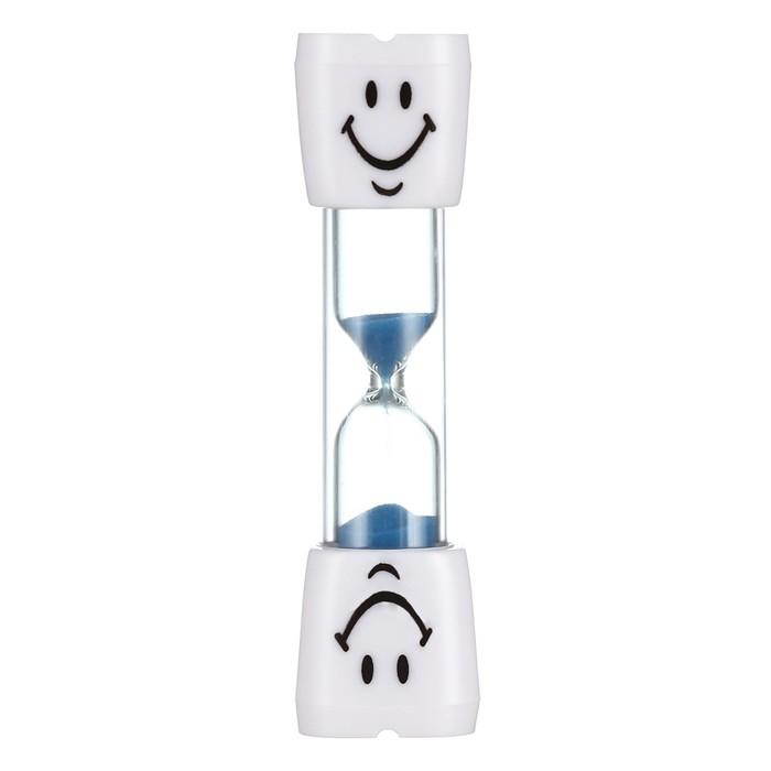 Песочные часы Зубик, на 3 минуты, 10 х 2 см, микс