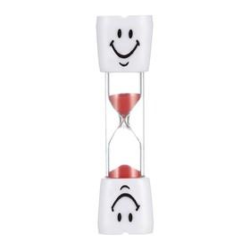Часы песочные 'Зубик' на 5 минут, 2.5х10 см, микс Ош