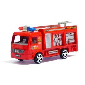 Машина инерционная «Пожарная», цвета МИКС
