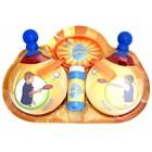 Мыльные прыгунцы «Пинг-Понг»: 2 ракетки, 2 венчика, лоток, бутылка 50 мл