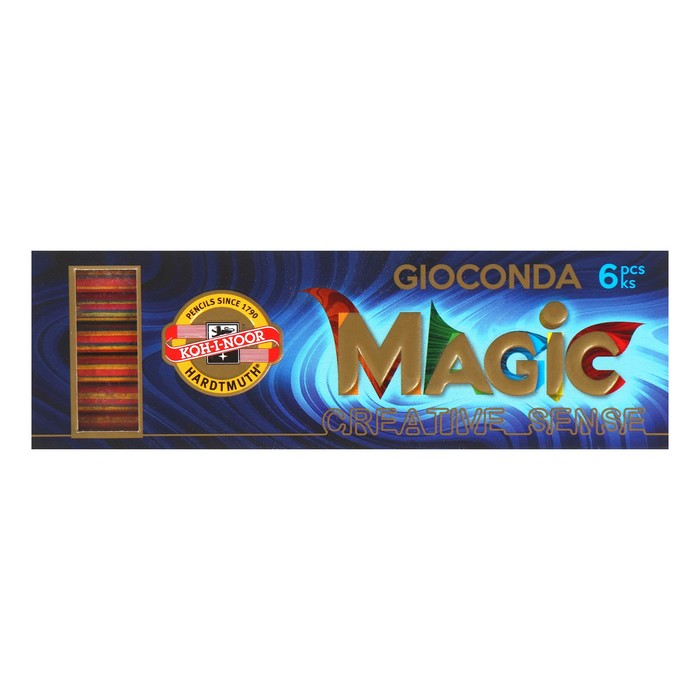 Грифели для цангового карандаша Koh-I-Noor 4376/06 Мagic, 5,6 мм, многоцветные