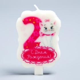 Свеча в торт Дисней 2 'С Днем Рождения', Коты аристократы Ош