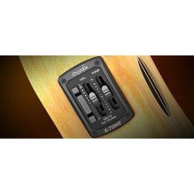 Эквалайзер Cherub GU-2  для укулеле, врезной, однополосный