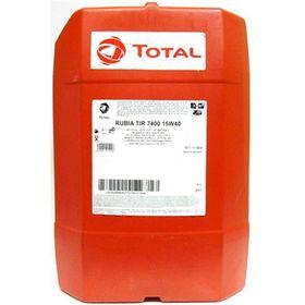 Масло моторное Total RUBIA TIR 7400 15W-40, 20 л