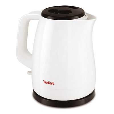 Чайник электрический Tefal KO150130, пластик, 1.5 л, 2200 Вт, белый - Фото 1