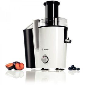 Соковыжималка Bosch VitaJuice MES25A0, 700 Вт, 1.25 л, 2 скорости, черно-белая