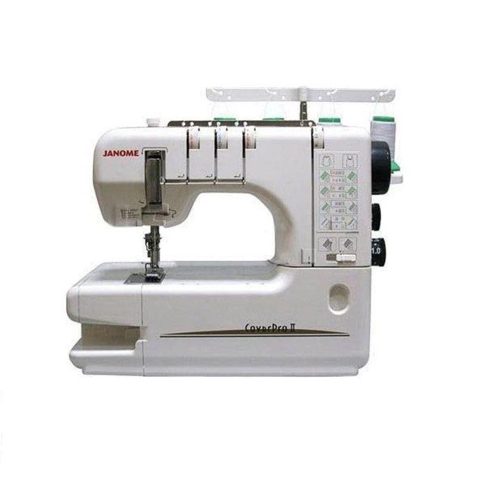 Швейная машина Janome Cover Pro 2, распошивальная, 3, 4-ниточный шов, 1000 стежков/мин