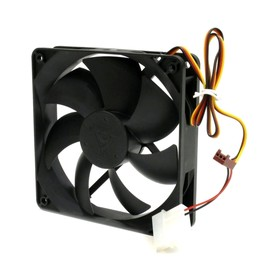 Вентилятор Glacialtech GT-12025-BDLA1 120x120x25mm 3-pin 4-pin (Molex)19-19dB Bulk