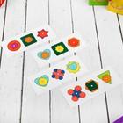 Логическая головоломка «Собери узор», 18 деталей, 4 карточки - Фото 3