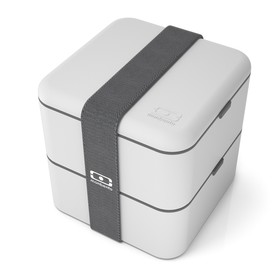 Ланч-бокс MB Square, светло-серый, 1,7 л