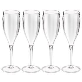 Набор бокалов для шампанского Superglas CHEERS NO. 1, 100 мл, 4 шт, прозрачный