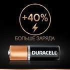 Батарейка алкалиновая Duracell Basic, AA, LR6-12BL, 1.5В, блистер, 12 шт. - Фото 3