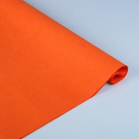 Бумага тутовая, HANJI, «Калька», насыщенный оранжевый 0,64 х 0,94 м, 52 г/м2 Ош
