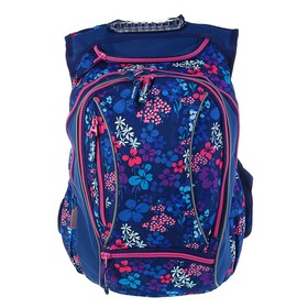 Рюкзак молодёжный Yes T-28 45 х 26 х 20 см, эргономичная спинка, Sweet, синий