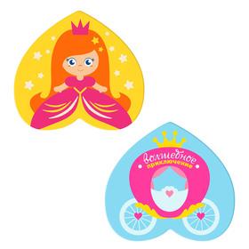 Мини-коврики для ванны «Принцесса», на присосках, набор 2 шт. Ош