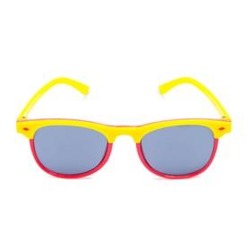 Очки солнцезащитные детские 'Clubmaster', оправа двухцветная, стёкла тёмные, МИКС, 13.5 см Ош