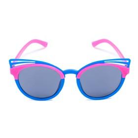 Очки солнцезащитные детские 'Clubmaster', оправа бабочка, стёкла тёмные, МИКС, 13.5 × 13 × 5 см Ош