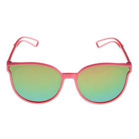 Очки солнцезащитные детские 'Clubmaster', дужки с прорезями, МИКС, 13 × 12.5 × 5.5 см Ош