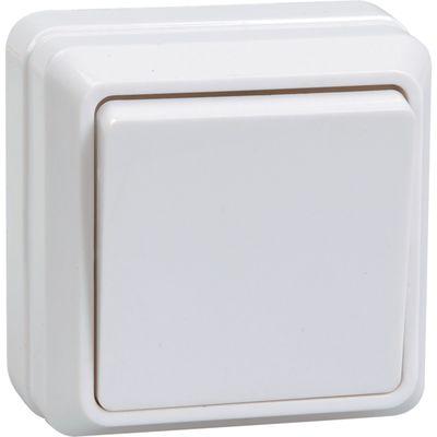 "Выключатель IEK ""ОКТАВА"" EVO10-K33-10-DC, 1 кл., ОП, 10А, IP20, крем., ВС20-1-0-Окм"