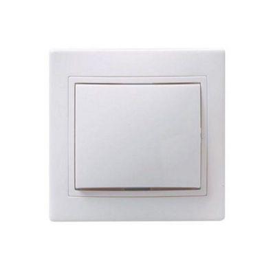 """Выключатель IEK """"КВАРТА"""" EVK10-K01-10-DM, 1 кл., СП, 10А, IP20, бел., ВС10-1-0-КБ"""
