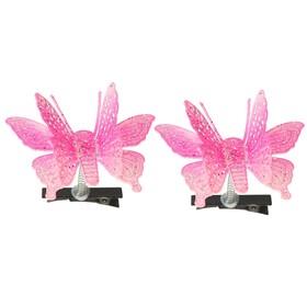 Карнавальный зажим «Бабочка», цвета МИКС