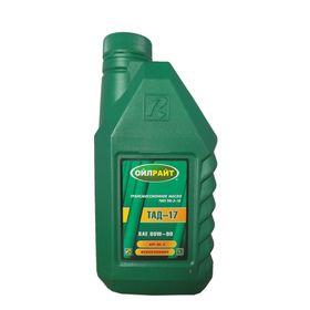 Трансмиссионное масло Sintec/Sintoil Транс ТАД-17И (ТМ-5-18) 80/90 GL-5 1л Ош