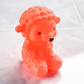 Игрушка для купания «Веселый Еж», с пищалкой, цвет МИКС