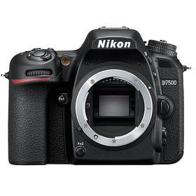 """Зеркальный Фотоаппарат Nikon D7500,  24.2 Mpix, 3.15"""", 1080 p, Full HD, черный"""