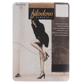 Колготки женские Filodoro Aurora, 15 den, размер 5, цвет cappuccino