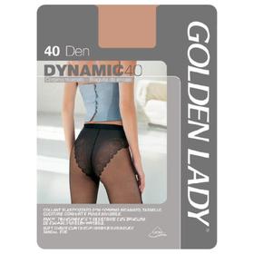 Колготки женские Golden Lady Dinamic, 40 den, размер 2, цвет nero