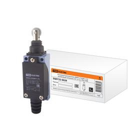Выключатель концевой TDM ВККН-2102М11-У2, роликовый толкатель, 5 А, 1з+1р, IP65, SQ0732-0029   32917 Ош