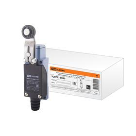Выключатель концевой TDM ВККН-2118М11-У2, роликовый рычаг, 5 А, 1з+1р, IP65, SQ0732-0030 Ош